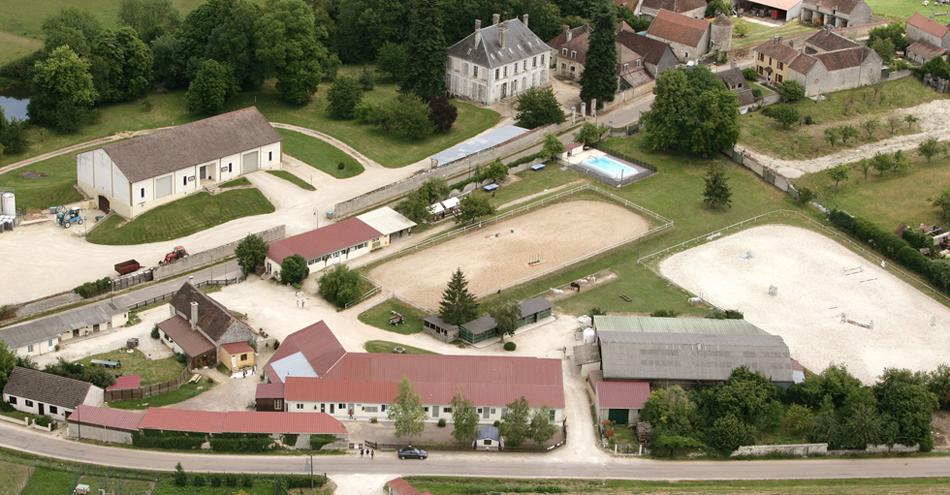 Plan du domaine centre equestre de chemilly chablis - Centre equestre jardin acclimatation ...